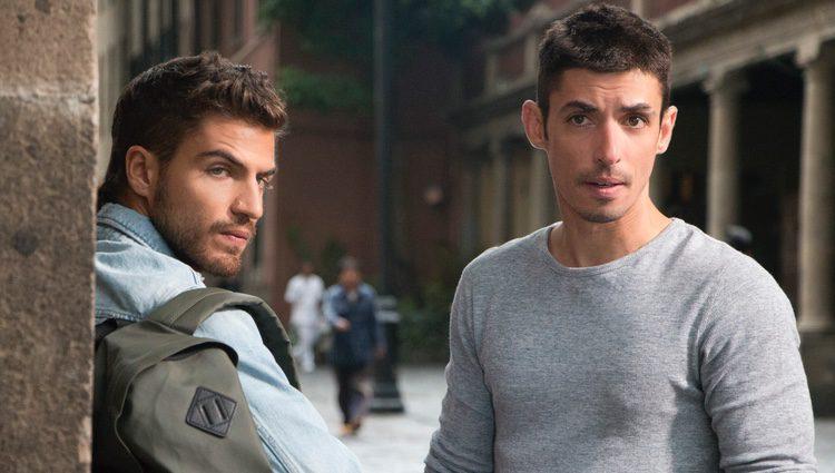 Maxi Iglesias y Alberto Guerra Ramos en 'Ingobernable'