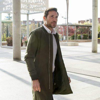 Antonio David Flores llegando a declarar a los Juzgados de Alcobendas