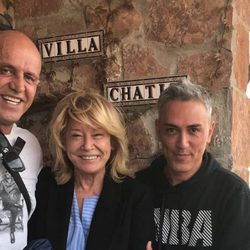 Kiko Matamoros, Mila Ximénez y Kiko Hernández en 'Villa Chatín'