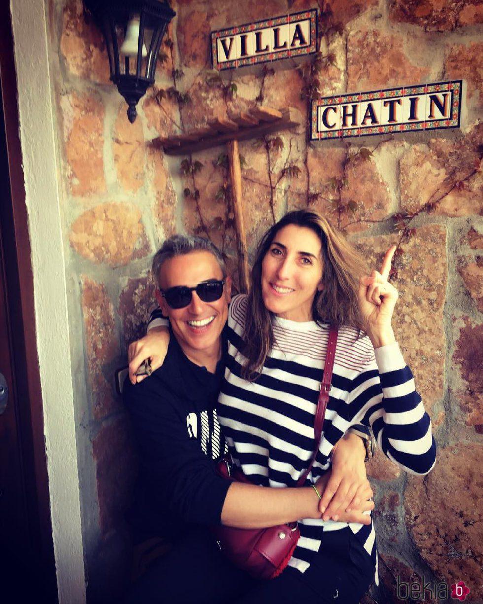 Kiko Hernández y Paz Padilla en 'Villa Chatín'