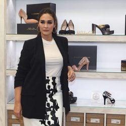 Vicky Martín Berrocal presenta su nueva colección de zapatos