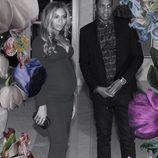 Beyoncé y Jay Z vestidos para la ocasión