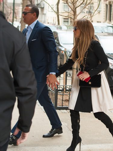 Jennifer Lopez y Alex Rodriguez pasenado su amor