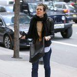 Carlota Casiraghi lloriqueando en Nueva York