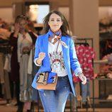 Paula Echevarría de compras después de confirmarse su separación