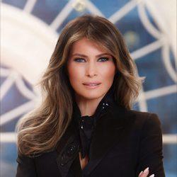 Foto oficial de Melania Trump como Primera Dama de Estados Unidos