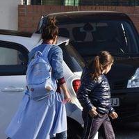 Paula Echevarría lleva a su hija Daniella al colegio tras conocerse su ruptura con David Bustamante