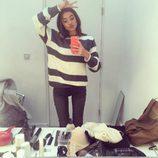 Rocío Crusset posa en un espejo