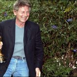 Roman Polanski con el premio Oscar