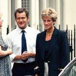 Lady Di junto a Paul Burrell