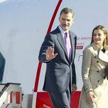 Los Reyes Felipe y Letizia se despiden en Madrid antes de volar a Japón para su Viaje de Estado