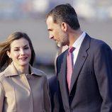Los Reyes Felipe y Letizia a su llegada a Tokio para su Viaje de Estado a Japón