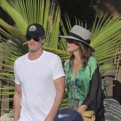 Cindy Crawford disfrutando de unas vacaciones junto a su marido Rande Gerber