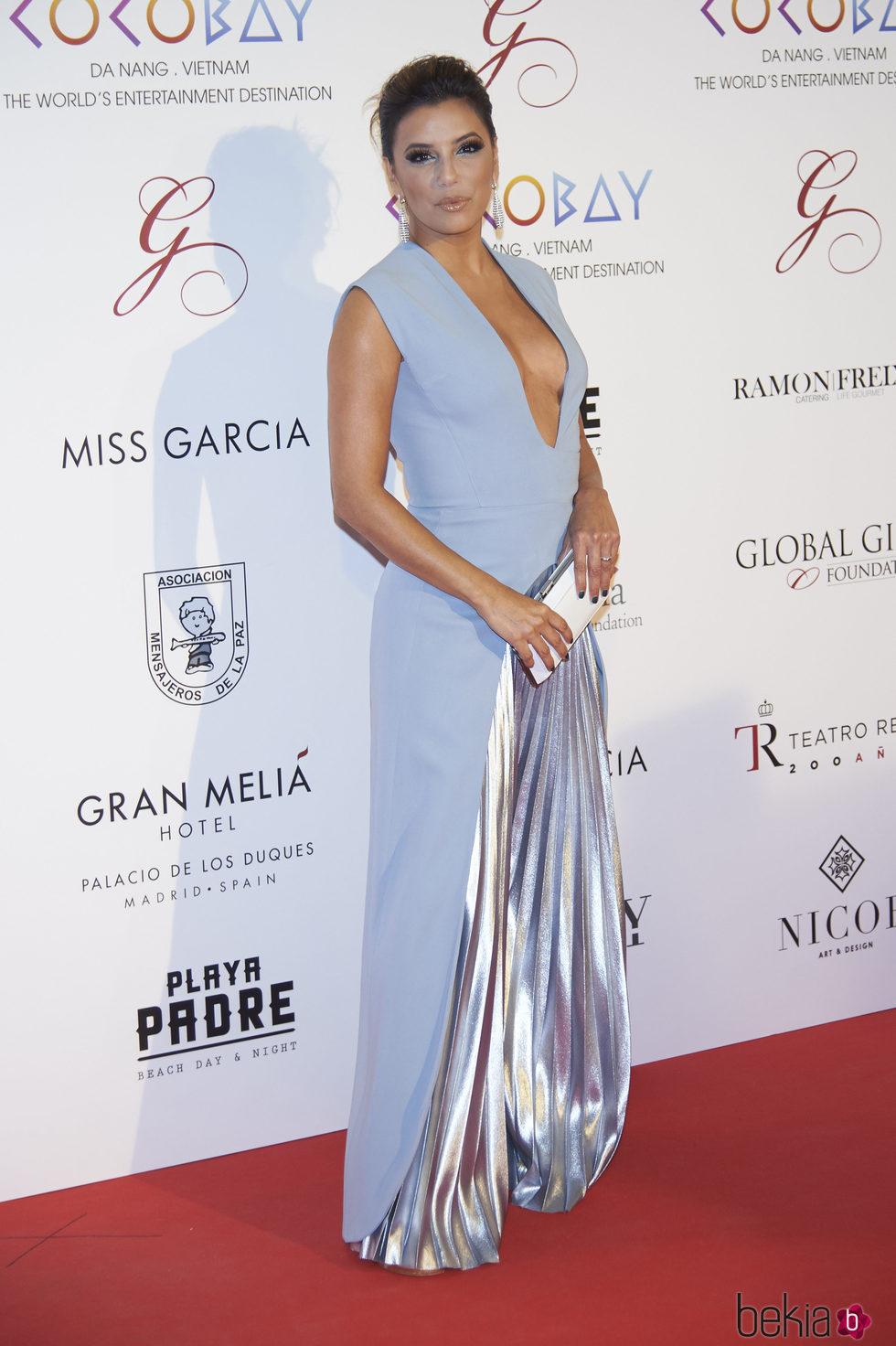 Eva Longoria en la Global Gift Gala 2017 de Madrid