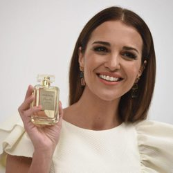 Paula Echevarría en la presentación de su fragancia 'Sensuelle'