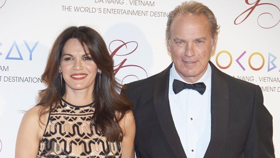 Bertín Osborne y Fabiola Martínez en la Global Gift Gala 2017 de Madrid