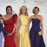 María Bravo, Carmen Lomana y Chenoa en la Global Gift Gala 2017 de Madrid