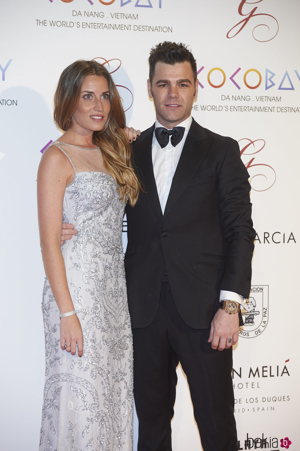 Fonsi Nieto y Marta Castro en la Global Gift Gala 2017 de Madrid