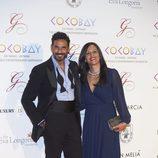 Oscar Higares y Sandra Álvarez en la Global Gift Gala 2017 de Madrid