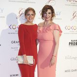 Belinda Washington y su hija Andrea Lázaro en la Global Gift Gala 2017 de Madrid