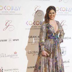 Tamara en la Global Gift Gala 2017 de Madrid