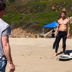 Ryan Phillippe en la playa