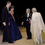 Los Emperadores de Japón reciben a los Reyes Felipe y Letizia en la cena en su honor en el Palacio Imperial de Tokio
