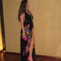 Malena Costa presumiendo de segundo embarazo