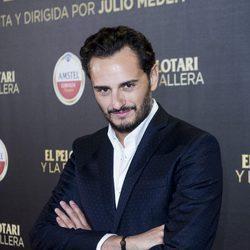 Asier Etxeandia en el estreno de 'El pelotari y la fallera'