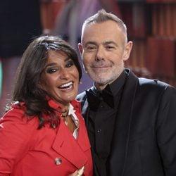 Aída Nizar y Jordi González en la semifinal de 'GH VIP5'
