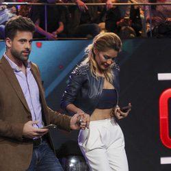 Ivonne Reyes y Sergio Ayala en la semifinal de 'GH VIP5'