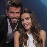 Marco Ferri y Aylen Milla posando juntos en la semifinal de 'GH VIP5'