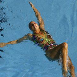Gemma Mengual en la piscina en el mundial de Melbourne