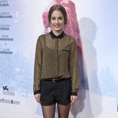 Silvia Alonso en la premiere de 'Eva' en Madrid