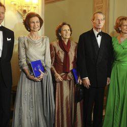El Gran Duque de Luxemburgo y la Reina Sofía celebran el 90 cumpleaños de Miguel de Rumanía