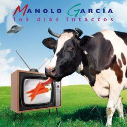 Portada de 'Los días intactos' de Manolo García