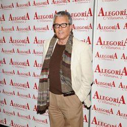 El actor Paco Valladares en el homenaje a Javier de Montini
