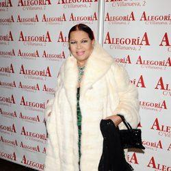 Sara Montiel en el homenaje a Javier de Montini