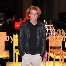 Diego Forlán en la Fundación Umberto Veronesi