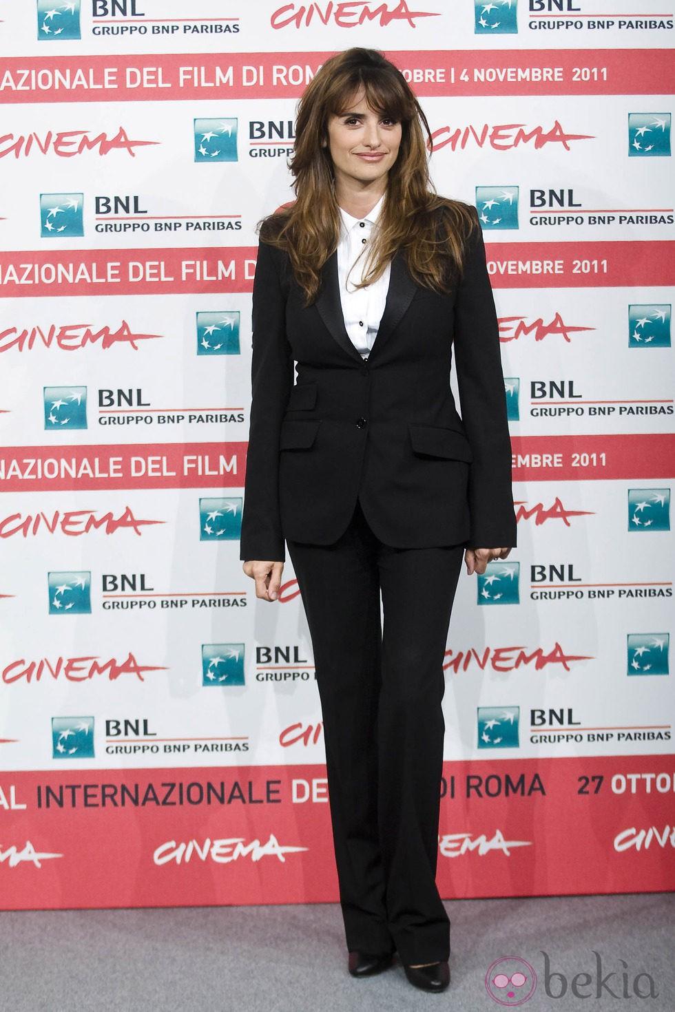 Penélope Cruz presenta 'Venuto al Mondo' en el Festival de Roma