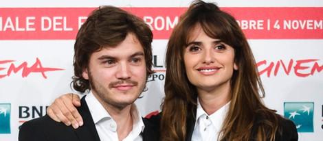 Emile Hirsch y Penélope Cruz presentan 'Venuto al Mondo' en el Festival de Roma