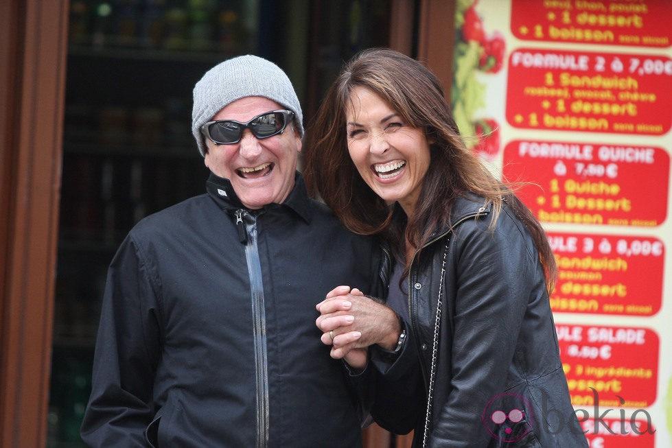 Luna de mIel Robin Williams y Susan Scheneider
