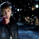 Justin Bieber en el videoclip de su villancico 'Mistletoe'