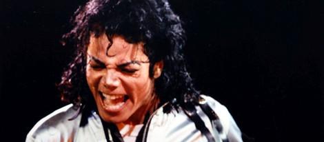 Michael Jackson en un concierto