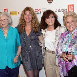 Josefina Molina, Carmen Calvo y Lola Herrera