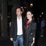 Albert Costa y Cristina Ventura en la fiesta Chanel de Barcelona