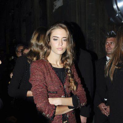 Clara Alonso en la fiesta Chanel en Barcelona