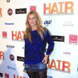 Malena Gracia en el estreno del musical 'Hair' en Madrid