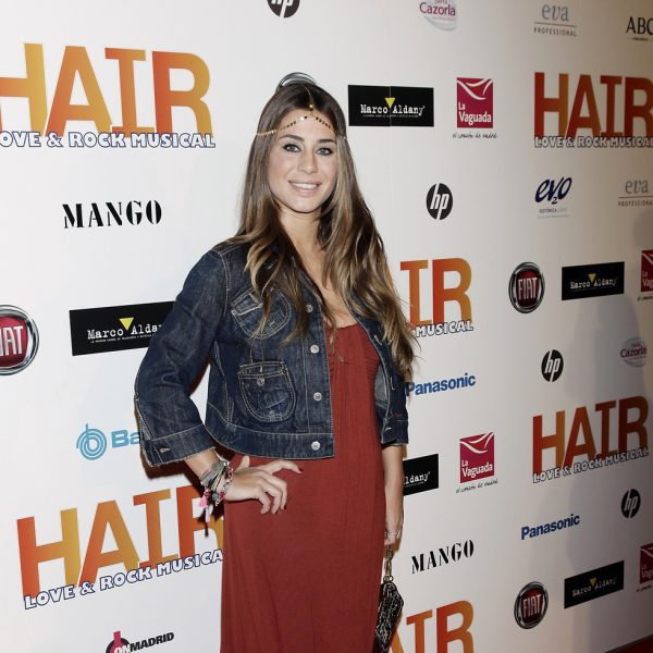 Famosos en el estreno del musical 'Hair' en Madrid