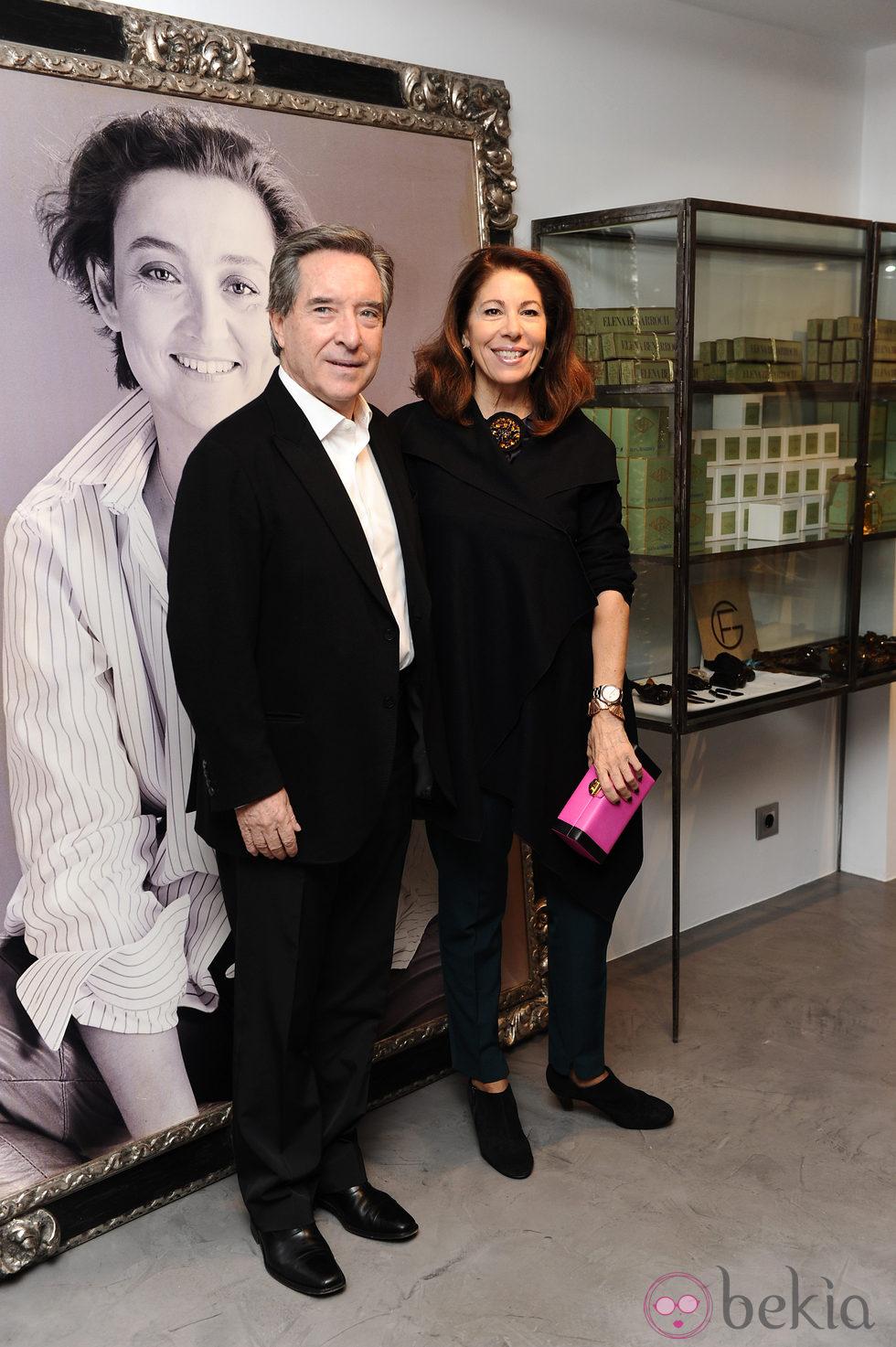 Iñaki Gabilondo en la inauguración de la tienda Elena Benarroch en Madrid
